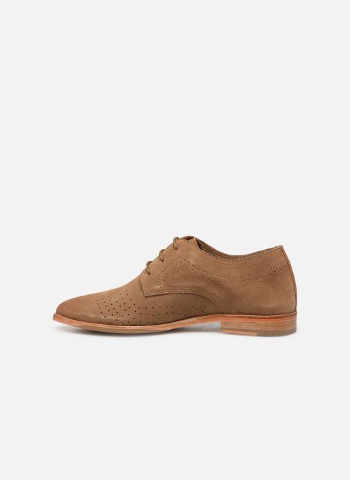 Chaussures à lacets P-L-D-M By Palladium Paroxysme Sud Marron vue face