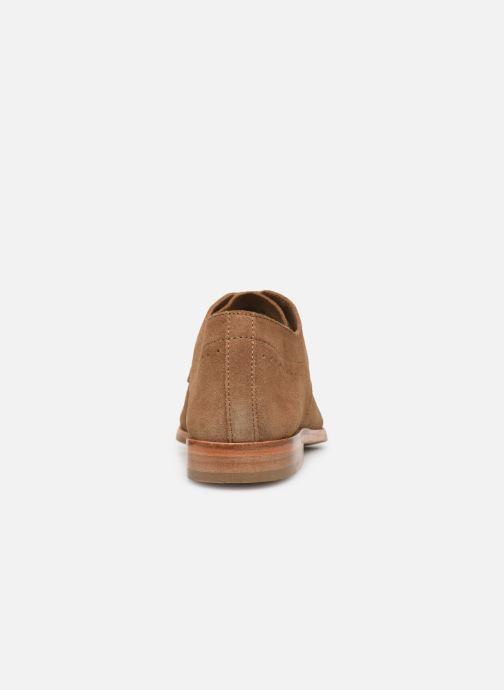 Chaussures à lacets P-L-D-M By Palladium Paroxysme Sud Marron vue droite