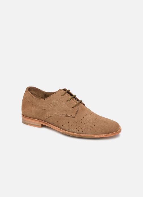 Chaussures à lacets P-L-D-M By Palladium Paroxysme Sud Marron vue détail/paire