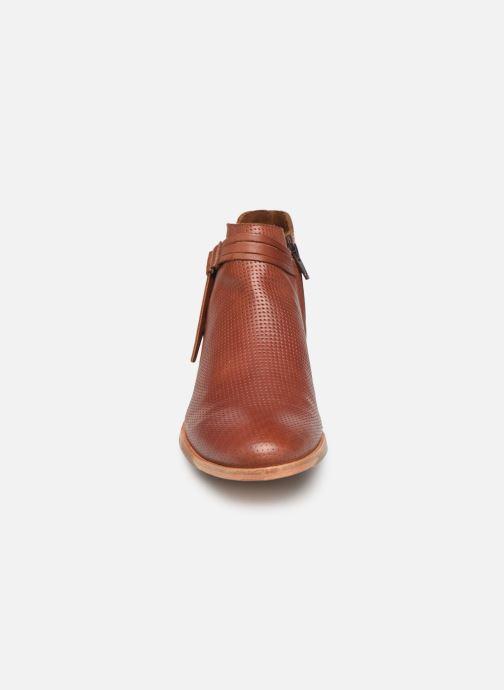 Bottines et boots P-L-D-M By Palladium Perfection Lea Marron vue portées chaussures