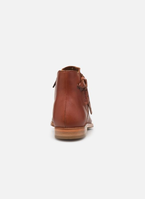 Bottines et boots P-L-D-M By Palladium Perfection Lea Marron vue droite