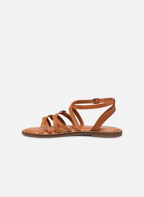 Sandales et nu-pieds P-L-D-M By Palladium Virgule Marron vue face