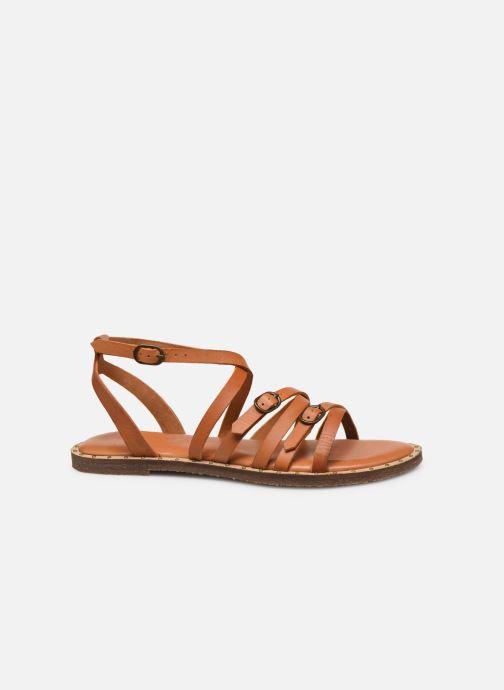Sandales et nu-pieds P-L-D-M By Palladium Virgule Marron vue derrière