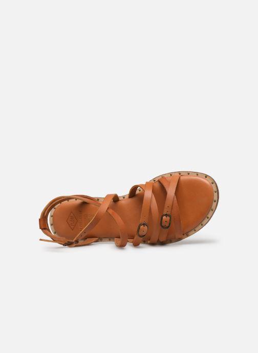 Sandales et nu-pieds P-L-D-M By Palladium Virgule Marron vue gauche