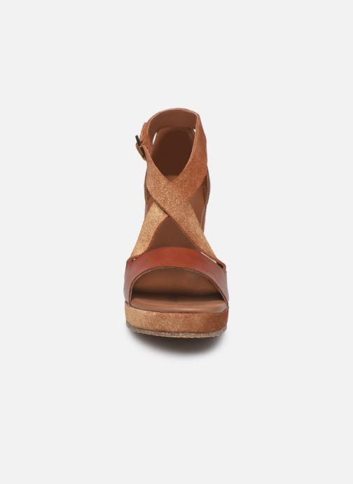 Sandali e scarpe aperte P-L-D-M By Palladium Kheops Marrone modello indossato
