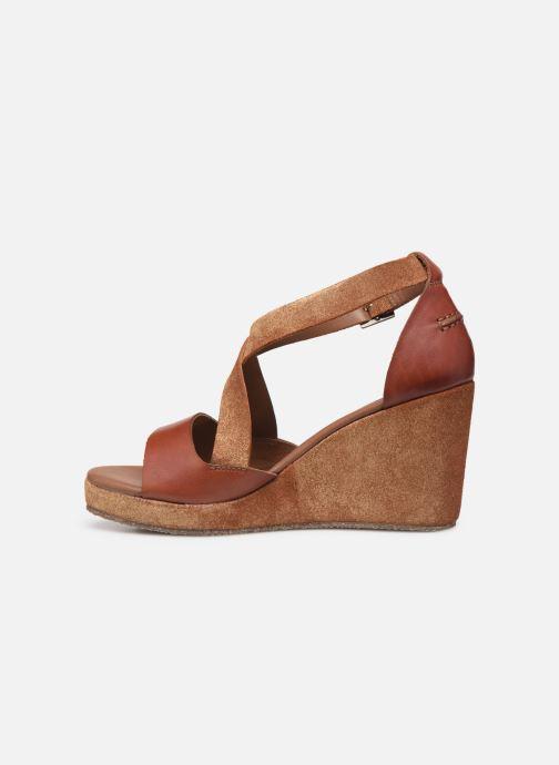 Sandali e scarpe aperte P-L-D-M By Palladium Kheops Marrone immagine frontale