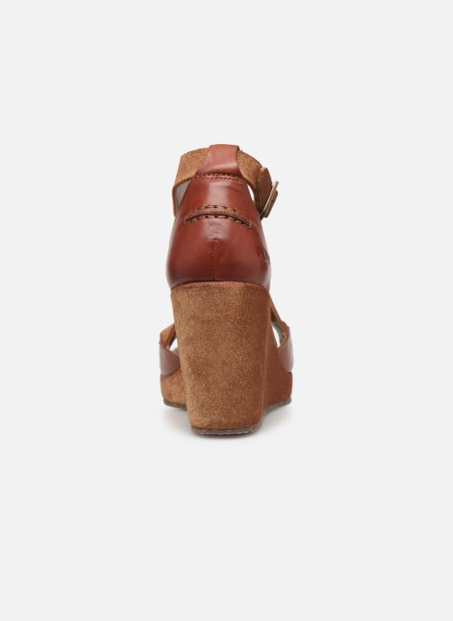 Sandali e scarpe aperte P-L-D-M By Palladium Kheops Marrone immagine destra