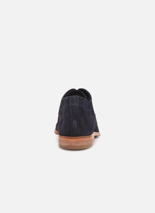 Chaussures à lacets P-L-D-M By Palladium Paroxysm Sud Bleu vue droite
