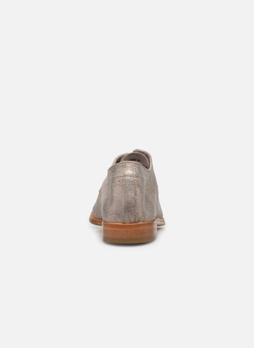 Zapatos con cordones P-L-D-M By Palladium Paroxysm Fl Beige vista lateral derecha