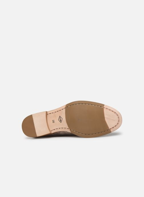 Zapatos con cordones P-L-D-M By Palladium Paroxysm Fl Beige vista de arriba
