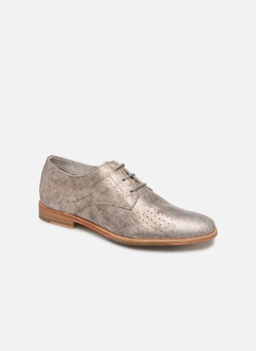 Zapatos con cordones P-L-D-M By Palladium Paroxysm Fl Beige vista de detalle / par