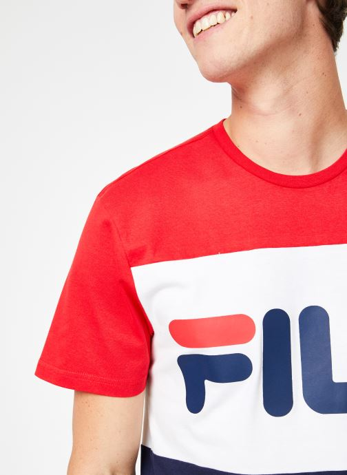 Vêtements FILA Day Tee Multicolore vue face