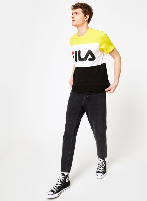 Tee Black shirts Day empire Yellow White Fila bright VêtementsT Et Polos XZiOPkuT