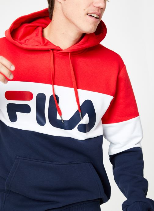 Vêtements FILA Night Blocked Hoodie Multicolore vue droite
