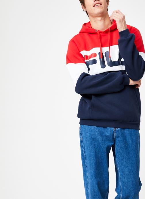 Vêtements FILA Night Blocked Hoodie Multicolore vue détail/paire