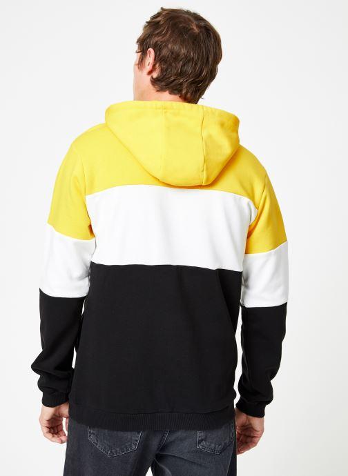 Hoodie Yellow Blocked White Fila Black empire bright Night VêtementsSweats OkXwP8Nn0Z