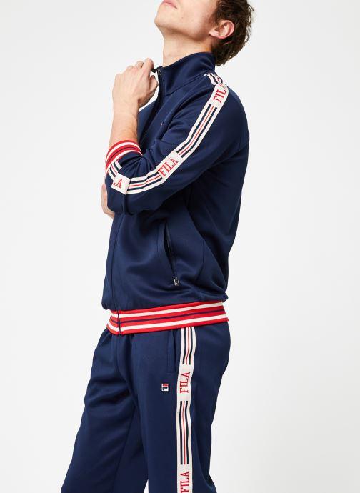 Tøj FILA Lefty Track Jacket Blå Se fra højre