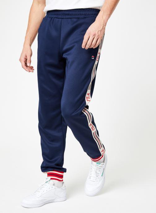 Tøj FILA Lou Track Pants Blå detaljeret billede af skoene