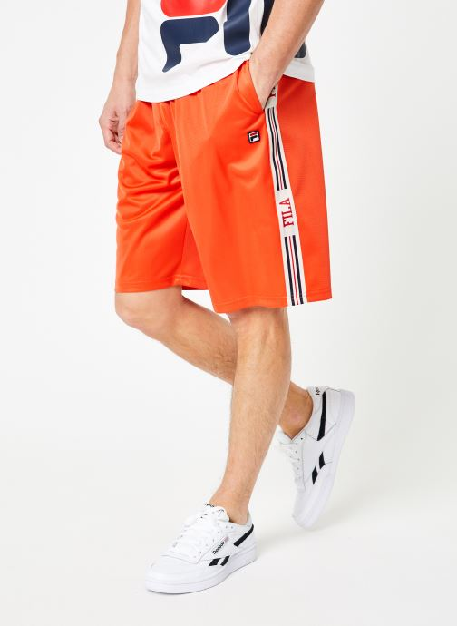 Vêtements FILA Josh Long Shorts Multicolore vue détail/paire