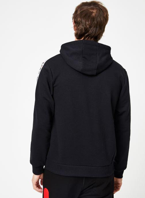 FILA Sweatshirt hoodie - David Tape Hoodie (Noir) - Vêtements chez Sarenza (369278) ECHo4