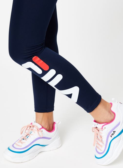 Vêtements FILA Flex 2.0 Leggings Bleu vue face