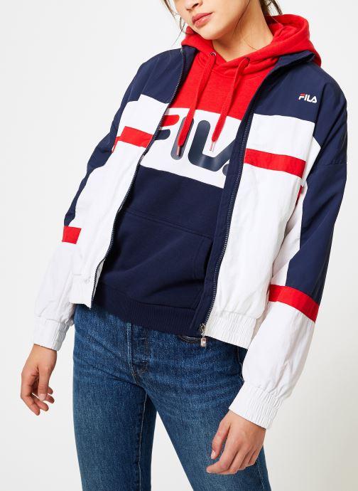 Vêtements FILA Kaya Wind Jacket Multicolore vue droite