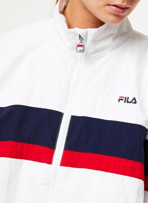 Vêtements FILA Kaya Wind Jacket Blanc vue face