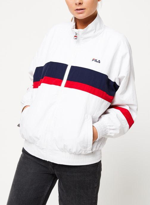 Vêtements FILA Kaya Wind Jacket Blanc vue détail/paire