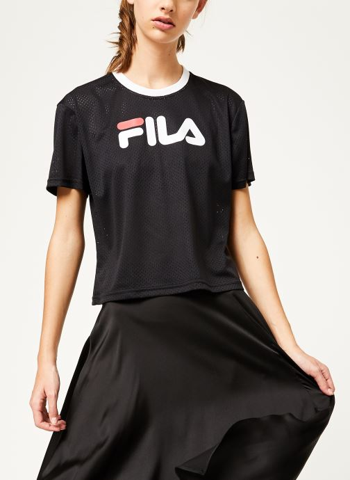 Michelle Cropped Mesh Tee