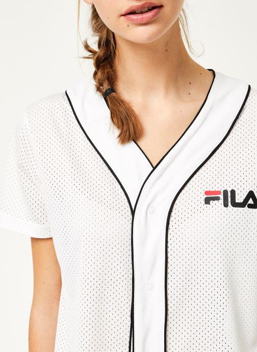 Baseball VêtementsRobes Dress Fila Robin Bright Button White v8nw0mNO