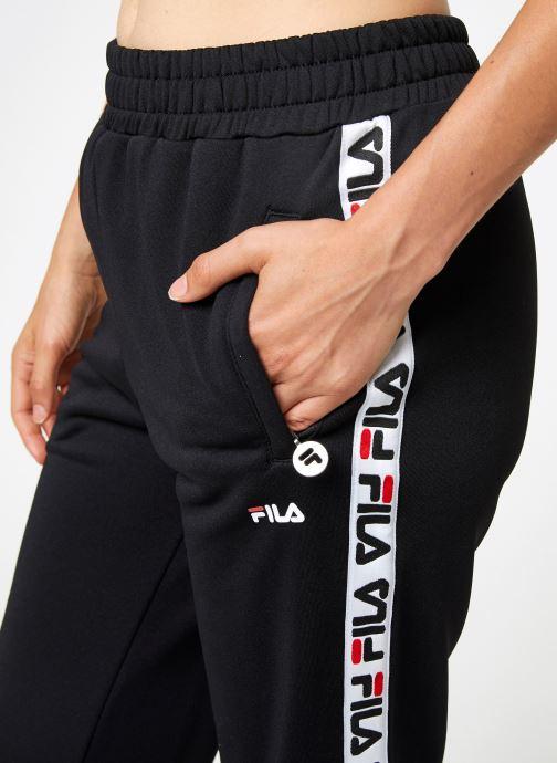 Kleding FILA Thora Track Pants Zwart voorkant