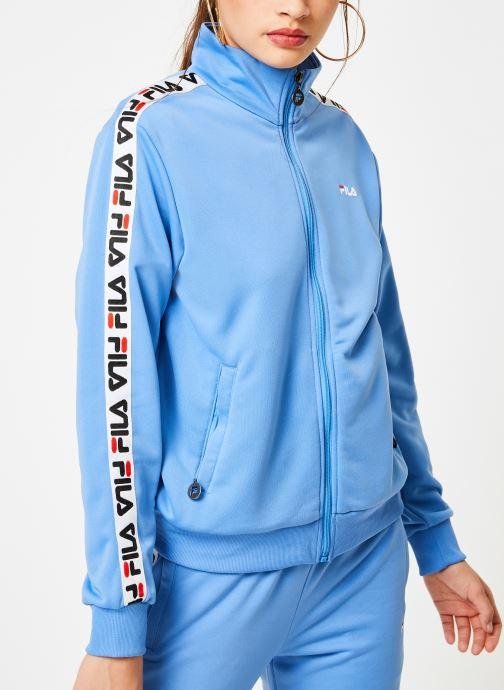 Tøj FILA Talli Track Jacket Blå detaljeret billede af skoene