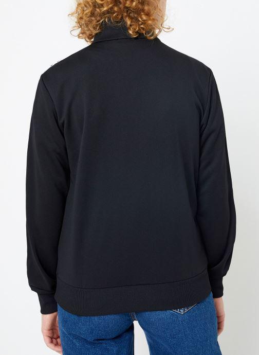 Vêtements FILA Talli Track Jacket Noir vue portées chaussures