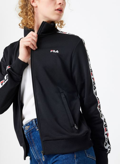 Vêtements FILA Talli Track Jacket Noir vue détail/paire