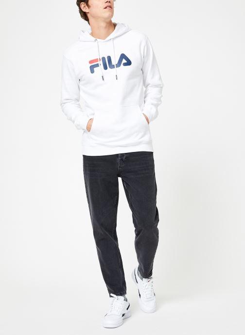 Vêtements FILA Pure Hoody Homme Blanc vue bas / vue portée sac