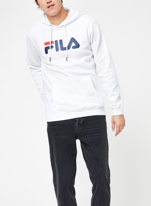 Vêtements FILA Pure Hoody Homme Blanc vue droite