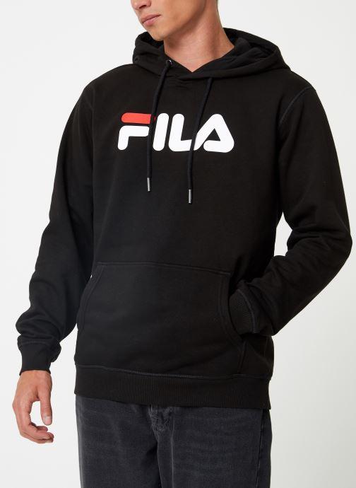 Vêtements FILA Pure Hoody Homme Noir vue détail/paire