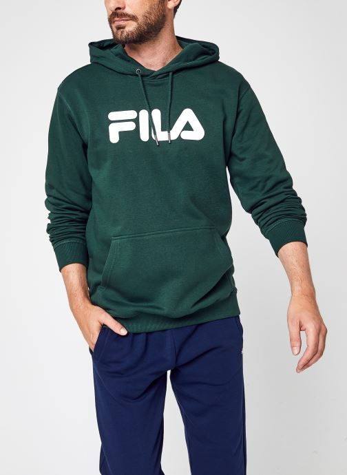 Kleding FILA Pure Hoody Homme Groen detail
