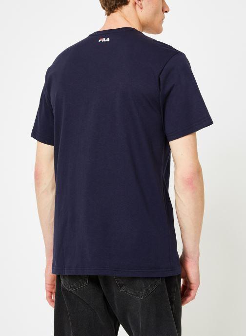 Kleding FILA Pure Short Sleeve Shirt Homme Blauw model