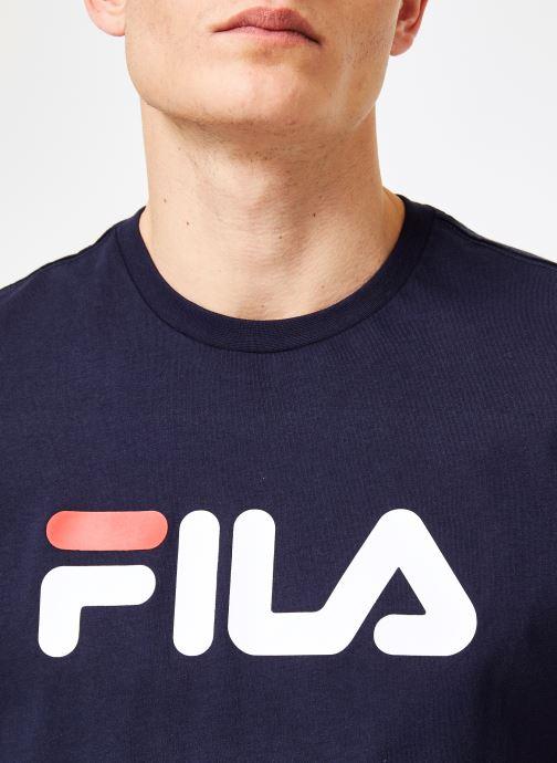 Kleding FILA Pure Short Sleeve Shirt Homme Blauw voorkant