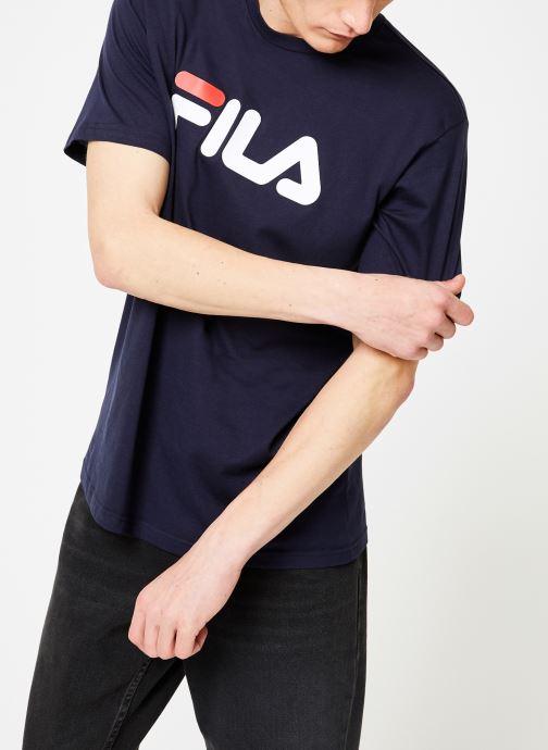 Kleding FILA Pure Short Sleeve Shirt Homme Blauw rechts