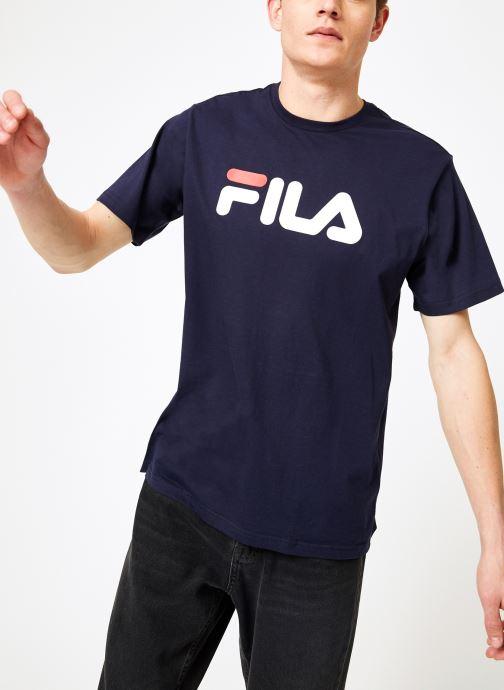 Kleding FILA Pure Short Sleeve Shirt Homme Blauw detail