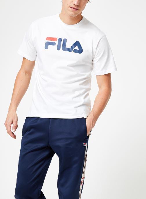 Kleding FILA Pure Short Sleeve Shirt Homme Wit rechts