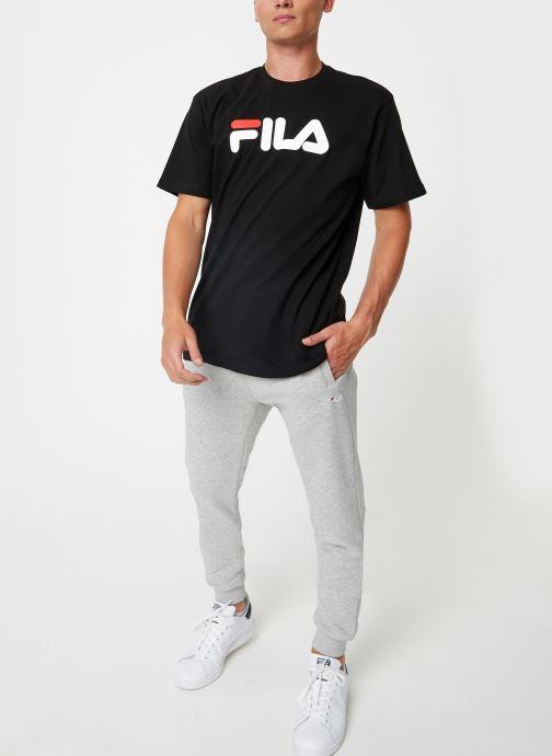 Vêtements FILA Pure Short Sleeve Shirt Homme Noir vue bas / vue portée sac