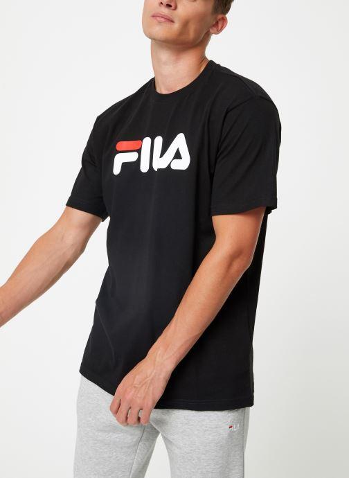 Vêtements FILA Pure Short Sleeve Shirt Homme Noir vue détail/paire