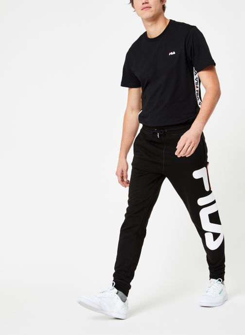 Vêtements FILA Pure Basic Pants Homme Noir vue bas / vue portée sac