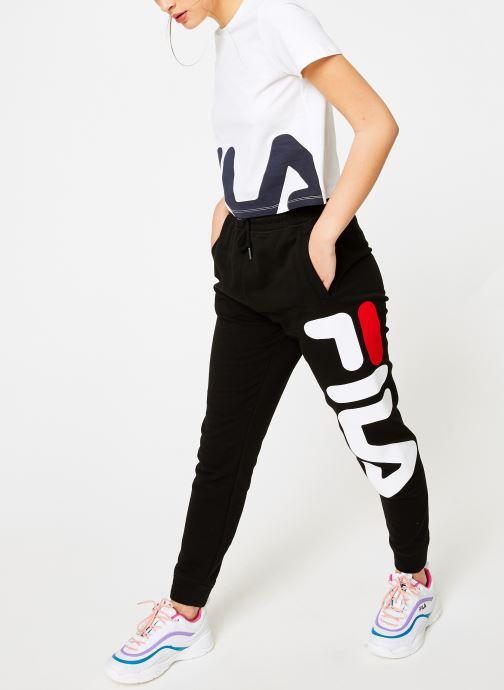 Vêtements FILA Pure Basic Pants Femme Noir vue bas / vue portée sac