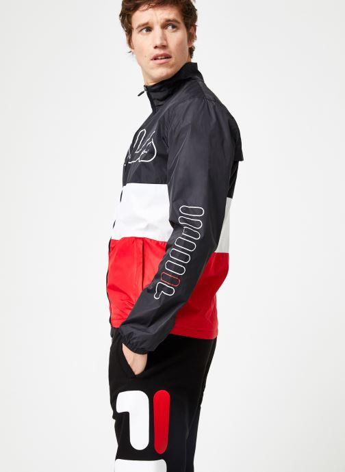 Vêtements FILA HUGO Trackjacket Multicolore vue droite