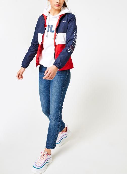 Vêtements FILA BRENDA Shell Jacket Multicolore vue bas / vue portée sac