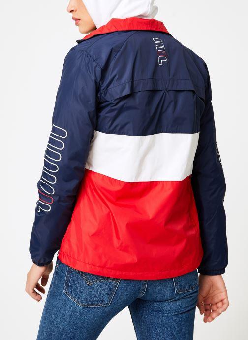 Vêtements FILA BRENDA Shell Jacket Multicolore vue portées chaussures
